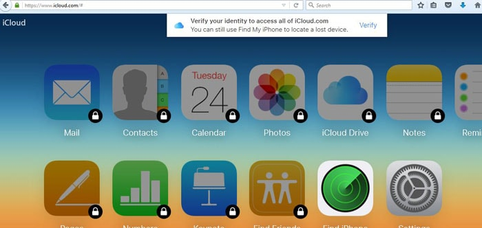 step 6 to Export iCloud Contacts to Outlook