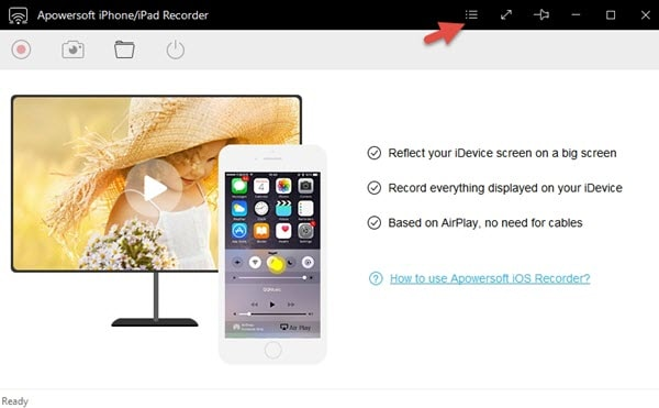 free screen recorder for iPad - Apowersoft