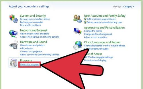 remove iCloud on Windows computers