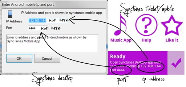 how to transfer music from Android device to itunes