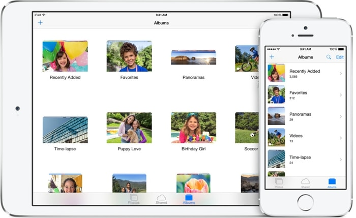 upload camera roll to icloud