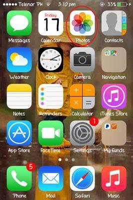 setup and use iCloud photo sharing