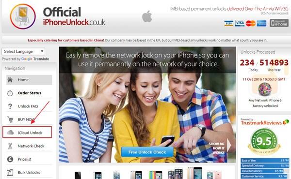 unlock iCloud locked iPhone 7