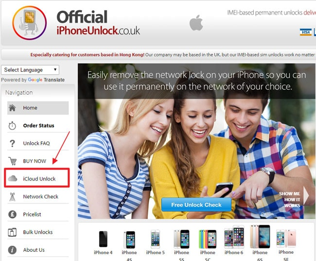 unlock iCloud locked iPhone no download