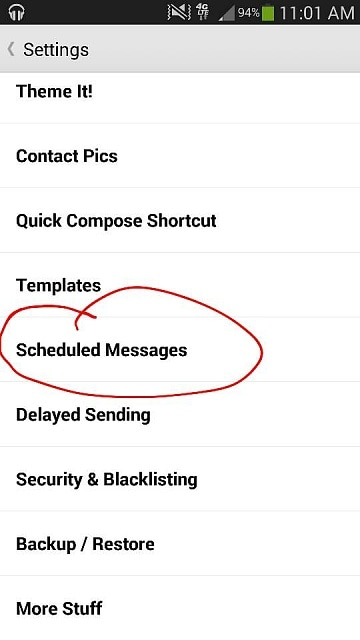recover deleted messages from samsung phone-Textra