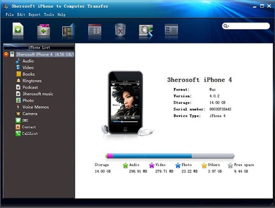mobile data transfer software-iPhonetoPC
