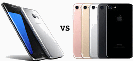 which one is better, iphone 7 or Samsung S8