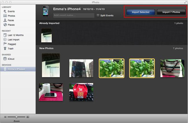 Transfer Photos from iPad to External Hard Drive - iPhoto