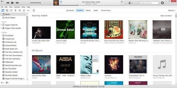 Berichten van iTunes back-uppen en herstellen