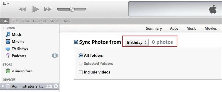 sync photos from samsung s3 to ipad