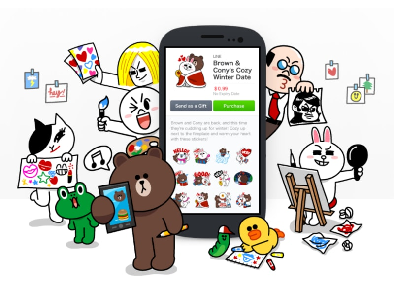 make money with line