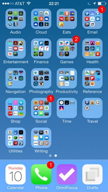 Use Folder or New Pages to Manage Apps on iPhone