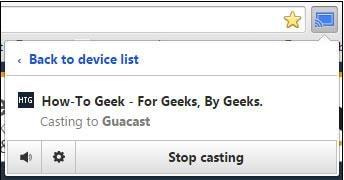Chromecast العرض المزدوج من الحاسوب الشخصى للتلفزيون