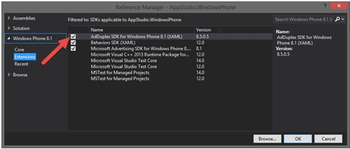 mobile emulator-Windows Phone Emulator