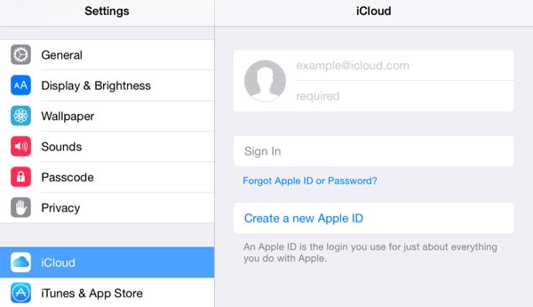 Separate Apple ID for Personal Data