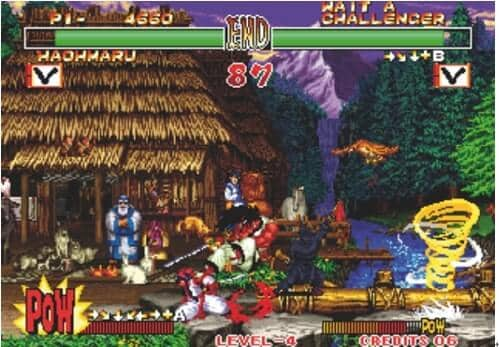 Neo Geo Emulators-Samurai Shadow