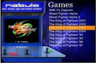 Neo Geo Emulators-Nebula-Windows