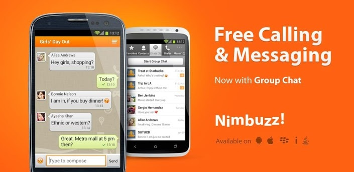 gratis telefoongesprekken app - Nimbuzz
