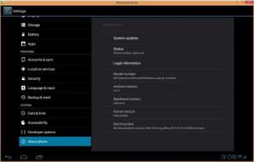 PC emulator for Android-WindRoid