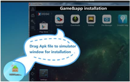 PC emulator for Android-Droid4X