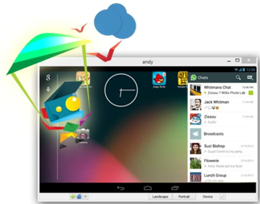 PC emulator for Android-AndyRoid-Andy OS