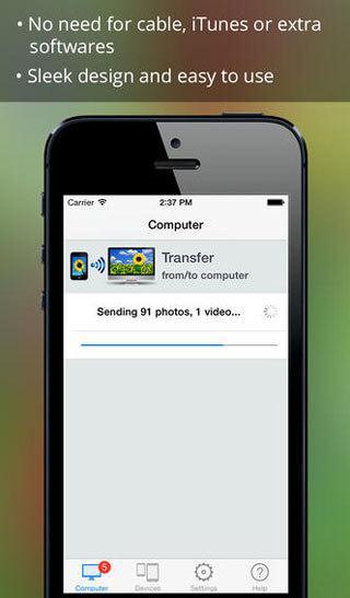 تطبيق photo transfer