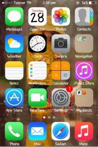 enable iCloud photo stream on iPhone