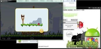 Android emulator Android mirror for pc mac windows Linux-Jar of Beans