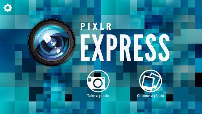 iphone photoshop App Alternative-PixLr Express