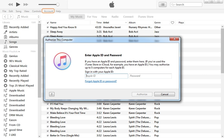 Transfer Purchased Podcasts from iPhone to Computer via iTunes