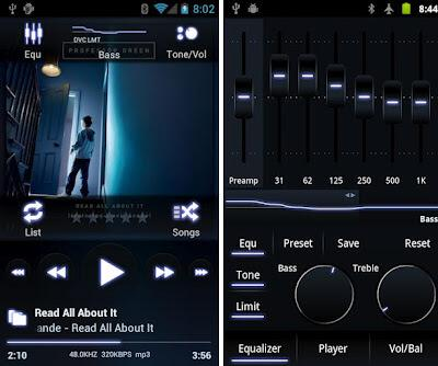 Poweramp Music Player-alternative iTunes app for Android