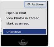 recover deleted facebook message