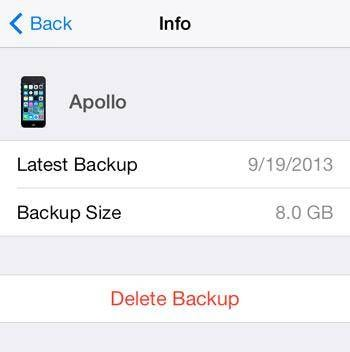 restore iPhone and iPad from iCloud backup