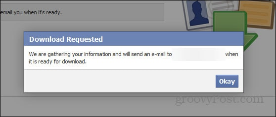 how to print facebook messages