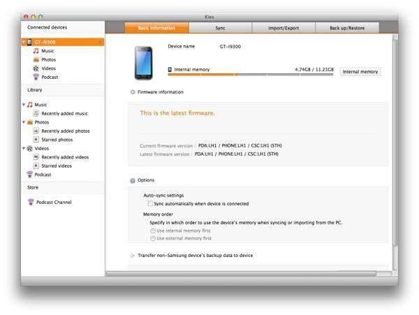 samsung kies download-Samsung Kies for Mac
