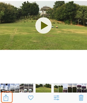 Email iPhone Videos - Select Video to Email