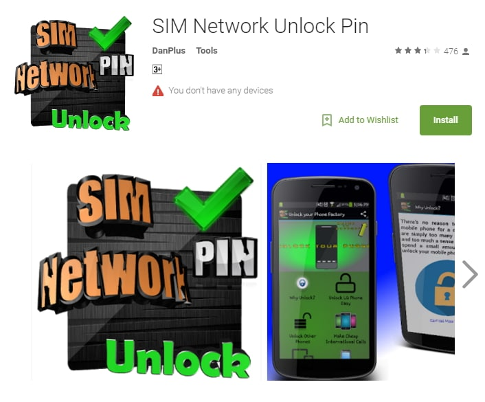 galaxy sim unlock app SIM Network Unlock Pin from DanPlus