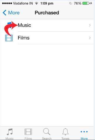 re-download songs from iCloud 04