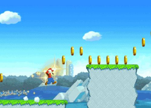 super mario run spin stall jump