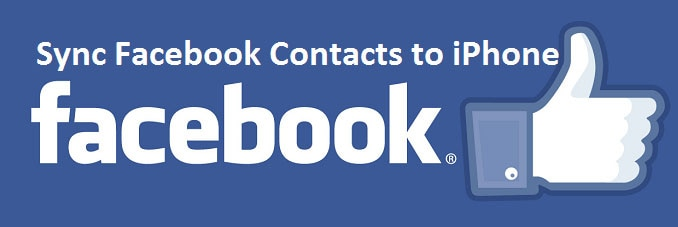 sync facebook contacts to iphone