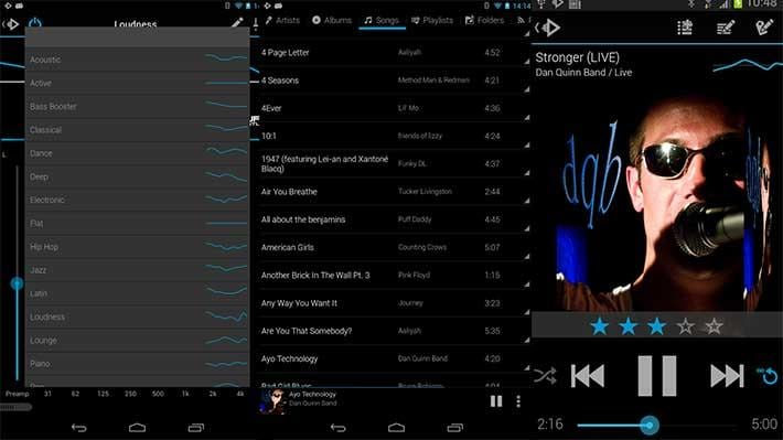 برامج تشغيل موسيقى سامسونج