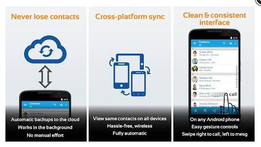 Contacts Transfer Backup Sync- Intouch App