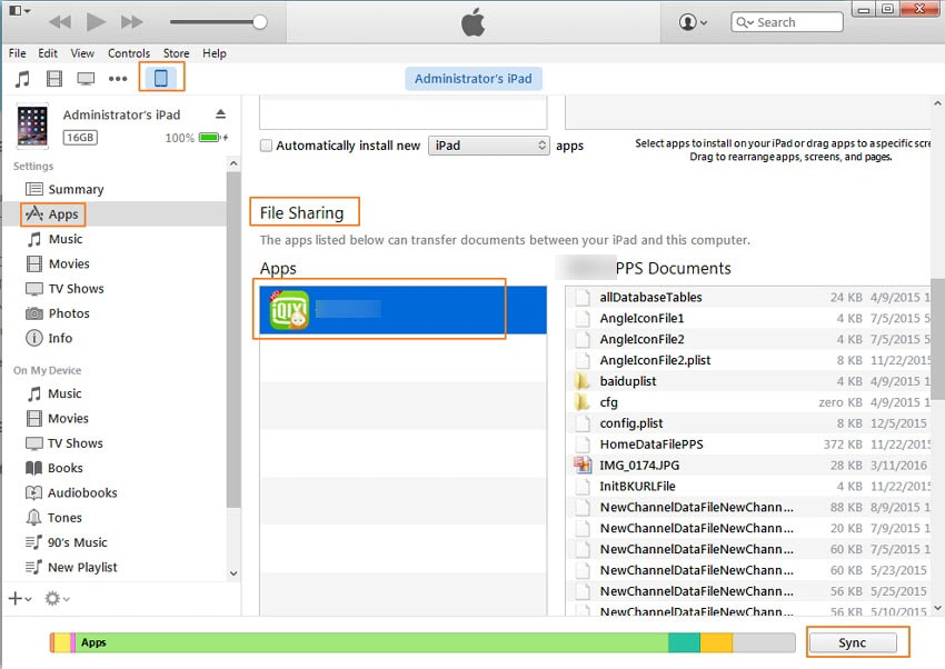 Transfer Files from PC to iPhone with iTunes