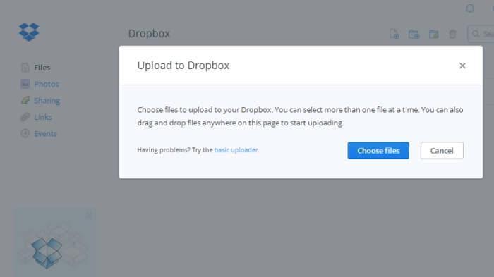 استخدم Dropbox لنقل الصور من الكمبيوتر إلى iPad