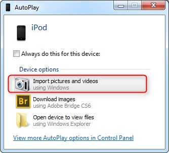 How to transfer photos from ipod touch to computer-Transfer Photos from iPod to Computer with AutoPlay