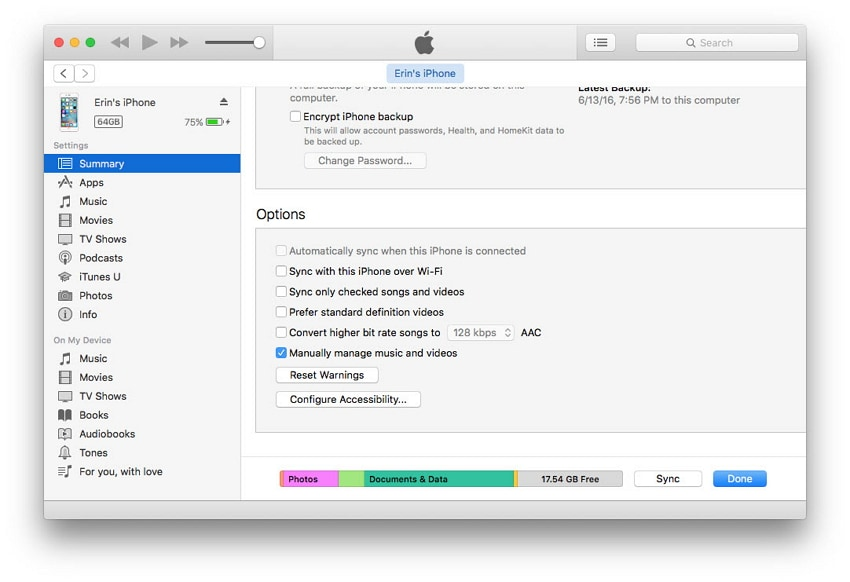 how to transfer playlists from itunes to iphone-use iTunes