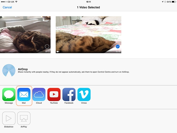 Transfer Videos to iPhone without iTunes from Computer by Using email