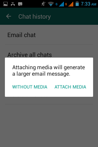 backup whatsapp messages