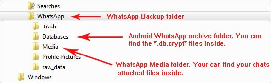 How to read WhatsApp backup - Backuptrans