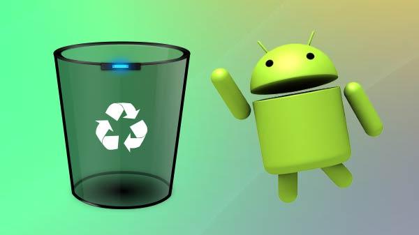 recycle bin interface